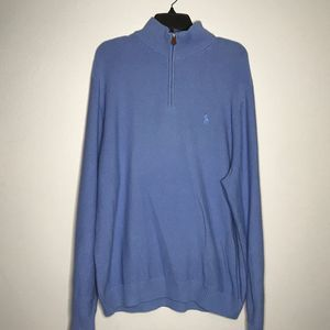 Polo Golf 1/4 Zip Cotton & Cashmere Sweater